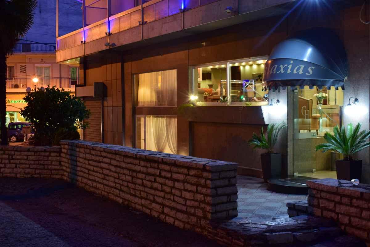 GALAXIAS HOTEL ΑΓΡΙΝΙΟ - Ξενοδοχείο Γαλαξίας - Είσοδος