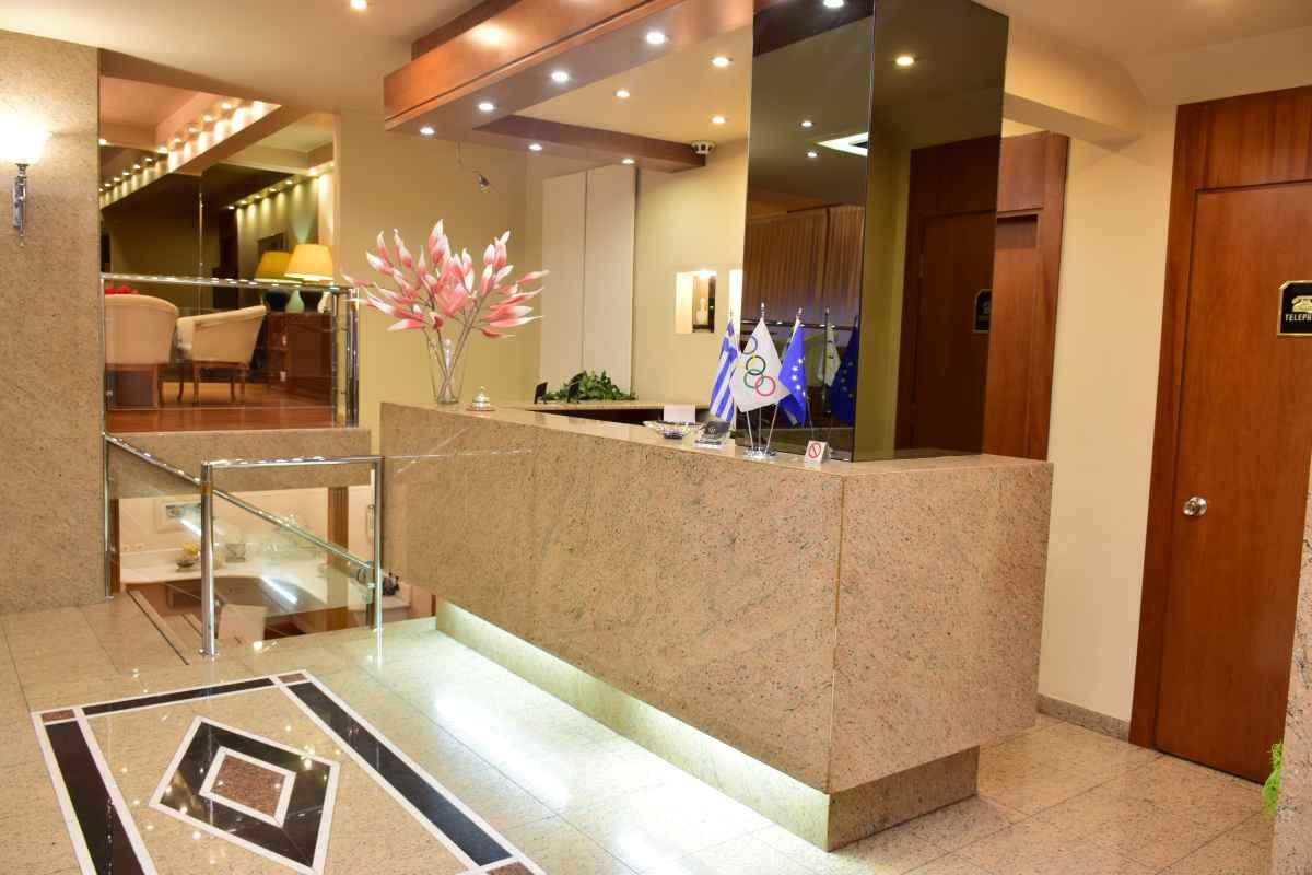 GALAXIAS HOTEL ΑΓΡΙΝΙΟ - Ξενοδοχείο Γαλαξίας - Ρεσεψιόν